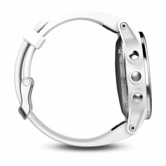 Часы для мультиспорта Garmin Fenix 5S - Silver with Carrara white band (010-01685-00)