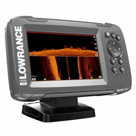 Эхолот/картплоттер Lowrance HOOK2-5 TripleShot (000-14019-001)