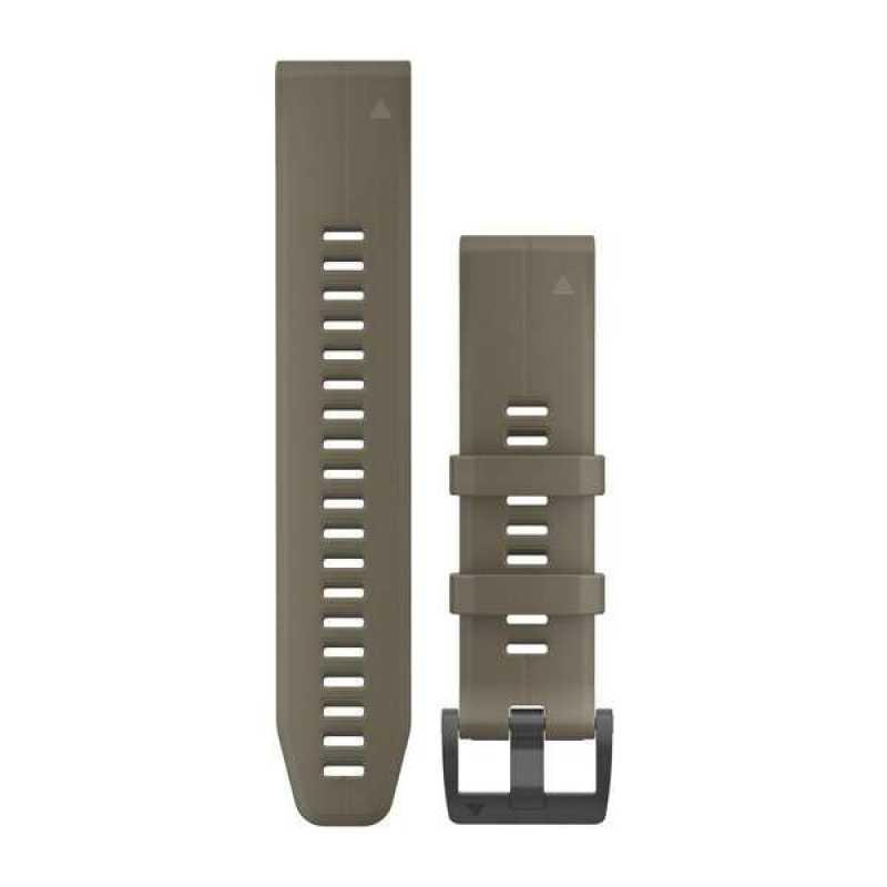 Ремешок для Garmin Fenix 5 Plus 22mm QuickFit Coyote Tan Silicone Band (010-12740-05)