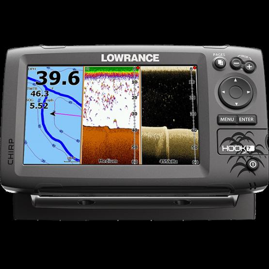 Эхолот/картплоттер Lowrance HOOK-7 (HOOK-7)
