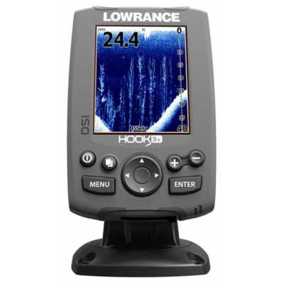 Эхолот/картплоттер Lowrance HOOK-3x DSI (000-12636-001)