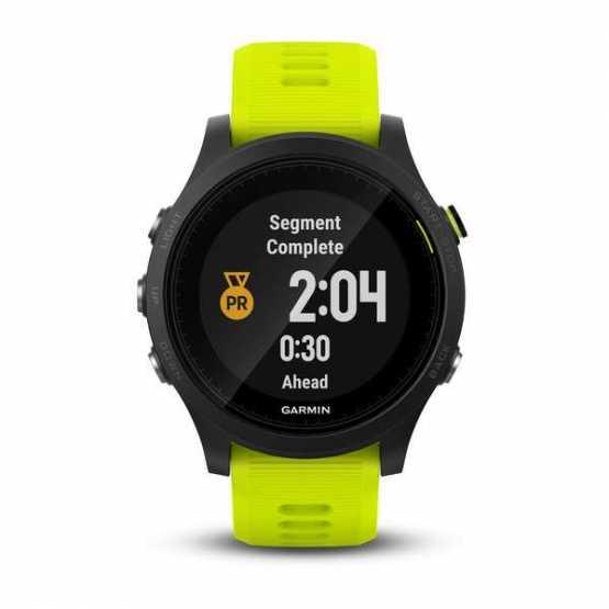 Часы для триатлона Garmin Forerunner 935 Black & Yellow Tri-Bundle (010-01746-06)