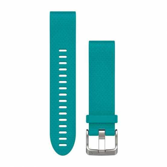 Ремешок для Fenix 5s 20mm QuickFit Turquoise Silicone Band (010-12491-11)