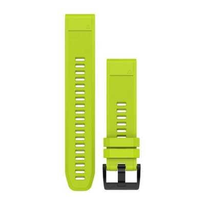 Ремешок для Fenix 5 22mm QuickFit Amp Yellow Silicone Band