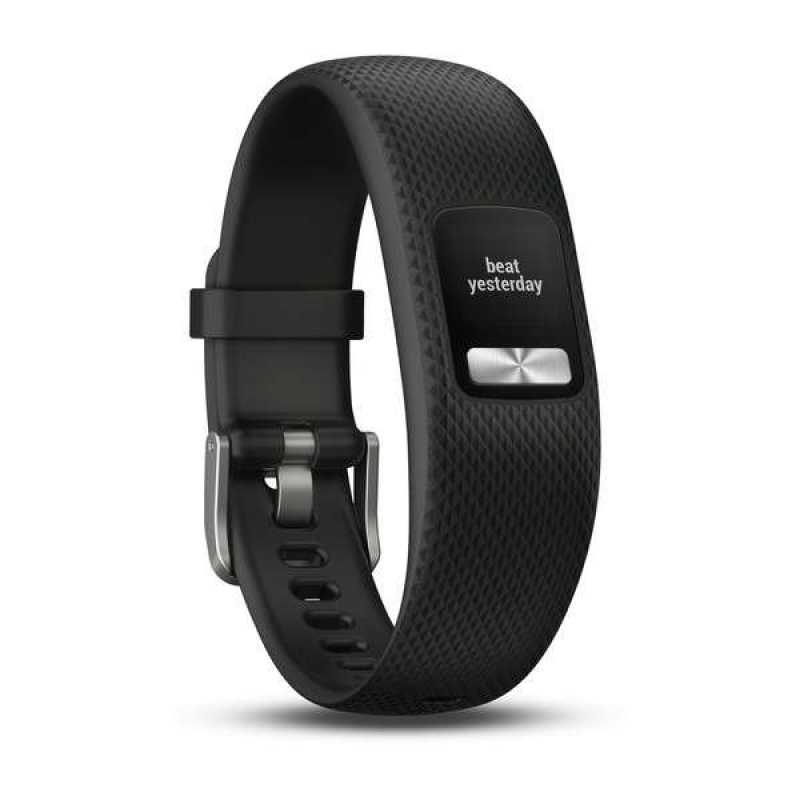 Фитнес браслет Garmin Vivofit 4, Black, S/M (010-01847-10)