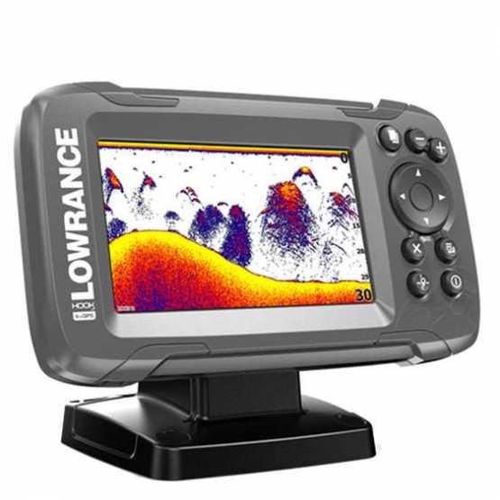 Эхолот/картплоттер Lowrance HOOK2-4x Bullet GPS (000-14015-001)
