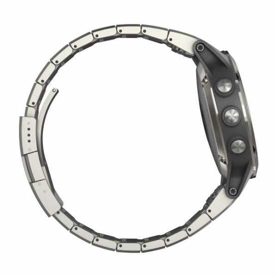 Морской навигатор Garmin quatix 5 Sapphire Stainless Steel Sapphire with Metal Band (010-01688-42)