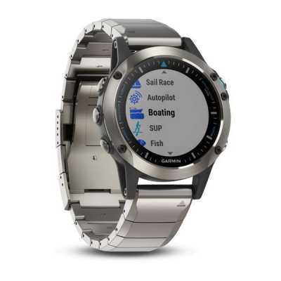 Garmin quatix 5 Sapphire Stainless Steel Sapphire with Metal Band