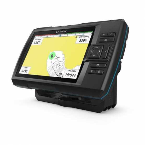 Эхолот/картплоттер Garmin Striker Plus 7cv, Worldwide w/GT20 (010-01873-01)
