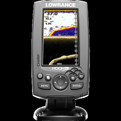 Эхолот Lowrance Fishfinder/Sonar Hook-4X