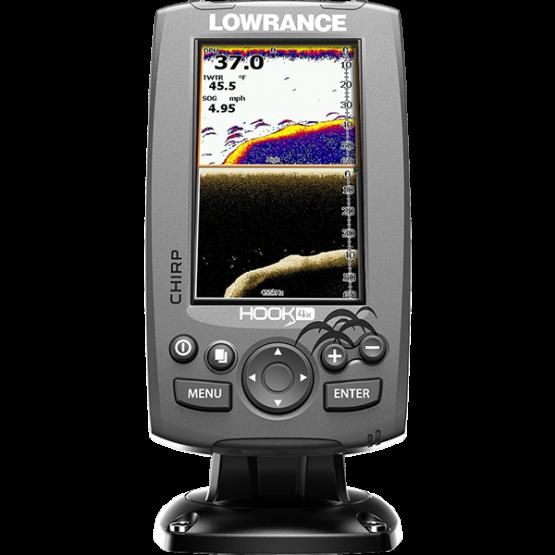 Эхолот/картплоттер Lowrance Fishfinder/Sonar Hook-4X (000-12641-001 )
