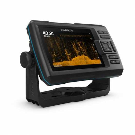 Эхолот/картплоттер Garmin Striker Plus 5cv, Worldwide w/GT20 (010-01872-01)