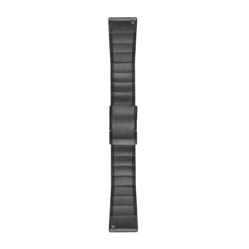 Ремешок для Fenix 5x 26mm QuickFit Slate Grey Stainless Steel Band
