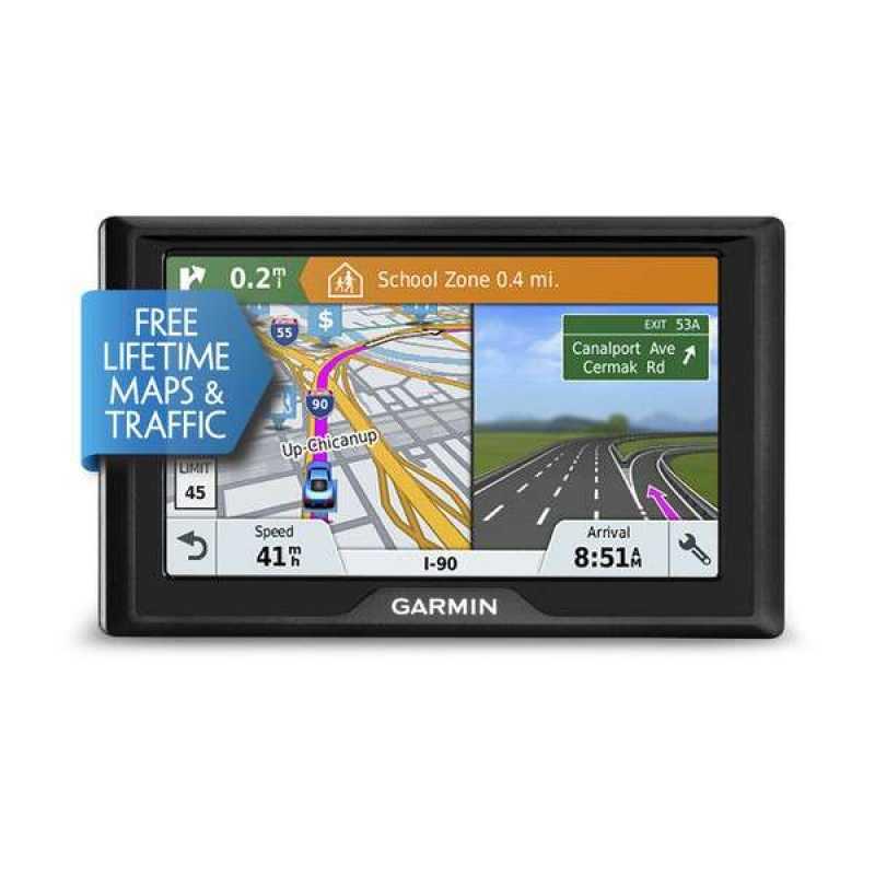 Автомобильный навигатор Garmin Drive 51 EU LMT-S