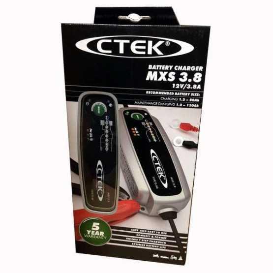 Зарядний пристрій CTEK MXS 3.8