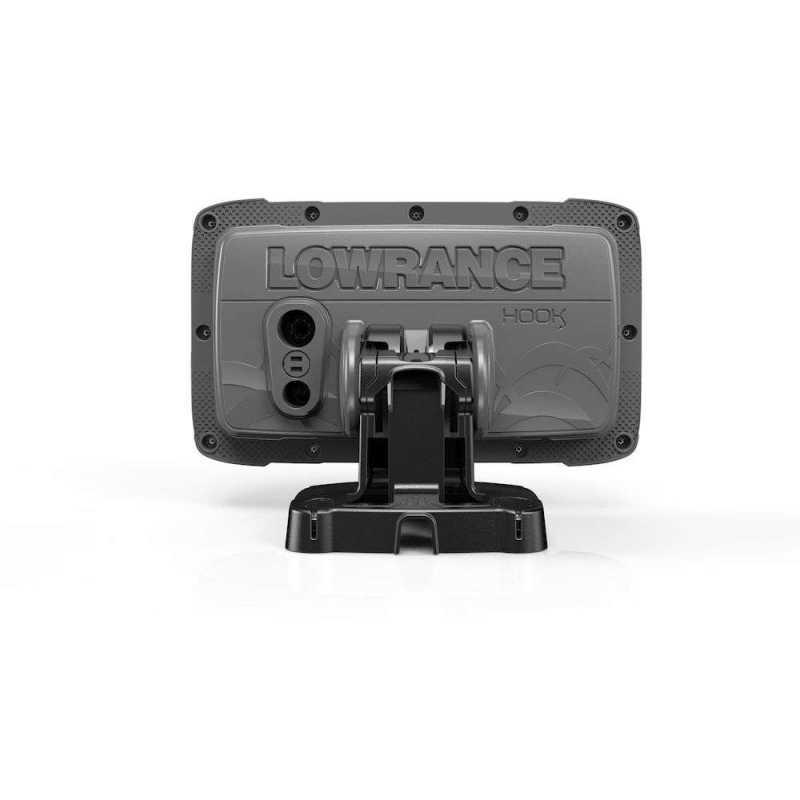 Эхолот картплоттер Lowrance Hook 25X GPS Splitshot + Акция: струбцина в подарок (000-14016-001)